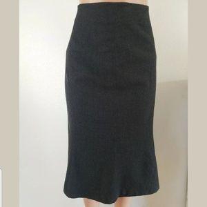 Lands End Wool Skirt